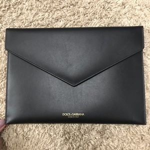 Dolce and Gabbana Envelope Clutch
